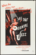 "Movie Posters:Documentary, All that Oriental Jazz (Universal International, 1960). One Sheet (27"" X 41""). Documentary.. ..."