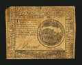 Colonial Notes:Continental Congress Issues, Continental Currency February 17, 1776 $4 Very Fine....