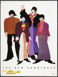 "Movie Posters:Animated, Yellow Submarine (Subafilms, R-1999). Soundtrack Poster (36"" X 48""). Animated.. ..."