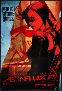 """Aeon Flux (Paramount, 2005). One Sheet (27"""" X 40"""") SS Advance Style B. Action"""