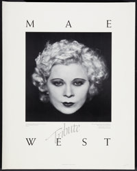"Mae West (A.M.P.A.S, 1981). Tribute Poster (22"" X 27.5""). Miscellaneous"