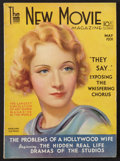 """Movie Posters:Miscellaneous, The New Movie Magazine (Tower, 1931). Magazine (8.5"""" X 12"""", Multiple Pages). Miscellaneous.. ..."""