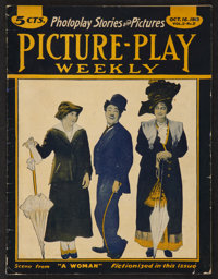 """Picture-Play Weekly (Street & Smith, 1915). Magazine (Multiple Pages, 8"""" X 10.25""""). Miscellaneous"""
