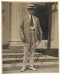 "Autographs:Statesmen, Chief Justice Charles Evans Hughes Photograph Inscribed ""Mr. GeorgeE. Durno,/ With cordial regards/ Charles E. Hughes/ Feb...."