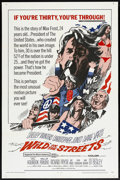 """Movie Posters:Comedy, Wild in the Streets (American International, 1968). One Sheet (27"""" X 41""""). Comedy.. ..."""