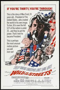 "Wild in the Streets (American International, 1968). One Sheet (27"" X 41""). Comedy"