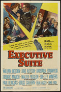 """Movie Posters:Drama, Executive Suite (MGM, 1954). One Sheet (27"""" X 41""""), Title Card and Lobby Cards (4) (11"""" X 14""""). Drama.. ... (Total: 6 Items)"""