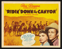 "Ridin' Down the Canyon (Republic, 1942). Lobby Card Set of 8 (11"" X 14""). Western. ... (Total: 8 Item)"