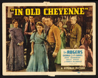"In Old Cheyenne (Republic, 1941). Lobby Card Set of 8 (11"" X 14""). Western. ... (Total: 8 Items)"