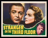 "Stranger on the Third Floor (RKO, 1940). Lobby Cards (7) (11"" X 14""). ... (Total: 7 Items)"