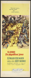 "Movie Posters:Western, The Magnificent Seven (United Artists, 1960). Insert (14"" X 36""). Western.. ..."