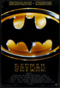 """Movie Posters:Action, Batman (Warner Brothers, 1989). One Sheet (27"""" X 40""""). Action.. ..."""