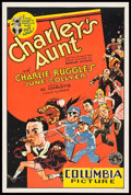 "Movie Posters:Comedy, Charley's Aunt (Columbia, 1930). One Sheet (27"" X 41"").. ..."