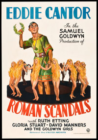 "Roman Scandals (United Artists, 1933). One Sheet (27"" X 41"")"