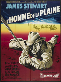 "The Man from Laramie (Columbia, 1955). French Grande (44"" X 60""). Western"