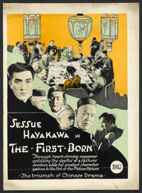 "The First Born (Robertson-Cole, 1921). Double-Sided Trade Ad (9"" X 12.5""). Drama"