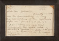 "Autographs:Authors, Jack London Autograph Letter Signed. Five pages, 9.25"" x 6"", October 14, 1903, Oakland, California, written on ""Jack Londo..."