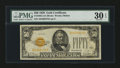 Small Size:Gold Certificates, Fr. 2404 $50 1928 Gold Certificate. PMG Very Fine 30 EPQ.. ...