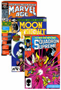 Modern Age (1980-Present):Miscellaneous, Marvel Modern Age Comics Box Lot (Marvel, 1980s) Condition: Average VF+....