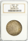 Bust Half Dollars, 1829 50C Small Letters MS62 NGC....