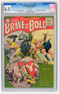 Golden Age (1938-1955):Adventure, The Brave and the Bold #1 (DC, 1955) CGC FN+ 6.5 White pages....