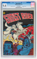 Golden Age (1938-1955):Western, Ghost Rider #1 (Magazine Enterprises, 1950) CGC NM 9.4 Off-whitepages....
