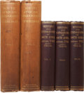 Books:First Editions, Two Titles on South Africa, including: Sidney Mendelssohn. SouthAfrica Bibliography. 1910. Two volumes. [an... (Total: 5 Items)
