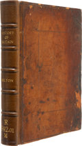Books:First Editions, John Milton. The History of Britain, that part especially nowcall'd England... London: Printed by J[ohn]. M[acocke]...
