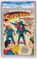 Silver Age (1956-1969):Superhero, Superman #115 (DC, 1957) CGC NM- 9.2 Off-white pages....
