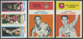 Basketball Cards:Singles (Pre-1970), 1960's-1980's Basketball Hall of Famers Rookie Card Trio (3). ...
