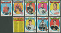 Hockey Cards:Sets, 1971-72 Topps Hockey High End Complete Set (132). ...
