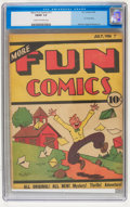 Platinum Age (1897-1937):Miscellaneous, More Fun Comics #11 (DC, 1936) CGC FN/VF 7.0 Cream to off-white pages....