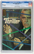 Silver Age (1956-1969):Mystery, Boris Karloff Thriller #1 Pacific Coast pedigree (Gold Key, 1962)CGC NM+ 9.6 Off-white to white pages....