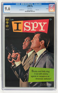 I Spy #1 Curator Copy (Gold Key, 1966) CGC NM+ 9.6 White pages