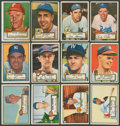 Baseball Cards:Lots, 1952 Topps Baseball Collection (70 Diff.) With Pafko. ...
