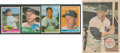 Baseball Cards:Lots, 1950's-1960's Mickey Mantle Collection (5)....