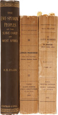 Books:First Editions, Three Volumes on African Languages, including: A. B. Ellis. TheEwe-Speaking Peoples of the Slave Coast of West Afri... (Total: 3Items)