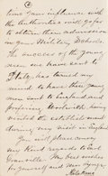 "Autographs:Non-American, Hawaiian King Kalakaua I Autograph Letter Signed, four pages, 4.25""x 7"", on stationery with the embossed royal cipher in si..."