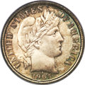 Barber Dimes, 1905-O 10C MS66 PCGS. CAC....