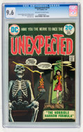 Bronze Age (1970-1979):Horror, Unexpected #154 (DC, 1974) CGC NM+ 9.6 Off-white to white pages....