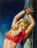 Paintings, PETER DRIBEN (American, 1902-1968). The Captive. Oil on board. 23 x 17.75 in.. Signed lower right. ...