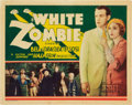 "Movie Posters:Horror, White Zombie (United Artists, 1932). Title Lobby Card (11"" X 14"").. ..."