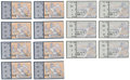Baseball Collectibles:Tickets, 2000 St. Louis Cardinals Playoff Ticket Stubs Lot of 14. ...