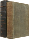 Books:First Editions, Herman Melville. Moby-Dick; or, The Whale. New York: Harper& Brothers, Publishers, 1851. . First American edi...