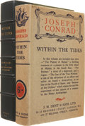Books:First Editions, Joseph Conrad. Within the Tides. Tales. London: J. M. Dent& Sons, 1915.. First edition....