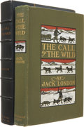 Books:First Editions, Jack London. The Call of the Wild. New York: The MacmillanCompany and London: Macmillan & Co., Ltd., 1903.. F...