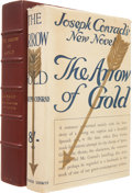 Books:First Editions, Joseph Conrad. The Arrow of Gold. A Story between Two Notes.London: T. Fisher Unwin, Ltd., [1919].. First Eng...