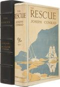 Books:First Editions, Joseph Conrad. The Rescue. A Romance of the Shallows.London: J. M. Dent & Sons Ltd., 1920.. First English pub...