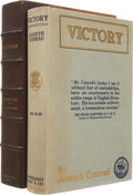 Books:First Editions, Joseph Conrad. Victory. An Island Tale. Garden City, NewYork: Doubleday, Page & Company, 1915.. First edition...