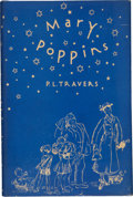 Books:Children's Books, P. L. Travers. Mary Poppins. Illustrated by Mary Shepard.New York: Reynal & Hitchcock, [1934]. . First Americ...